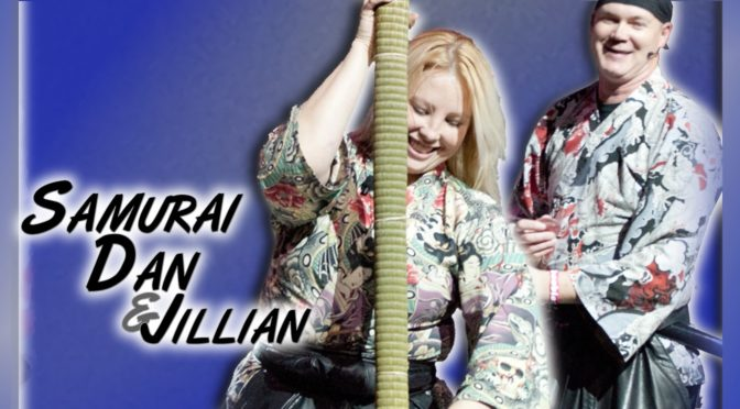 Guest Announcement: Samurai Dan & Jillian