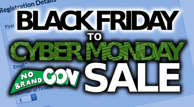 Announcing Our Black Friday to Cyber Monday Preregistration Sale!