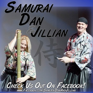 Samurai Dan and Jillian