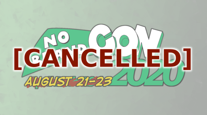 No Brand Con 2020 Has Been Cancelled